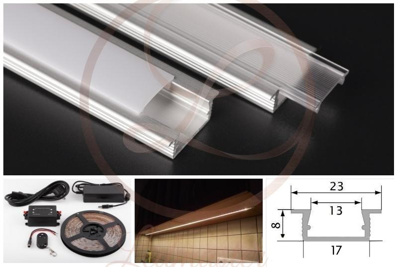 LED szalag konyhapult világítás
