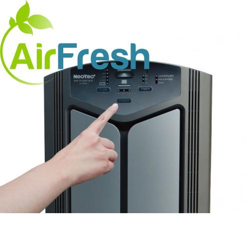 légtisztító készülék teszt